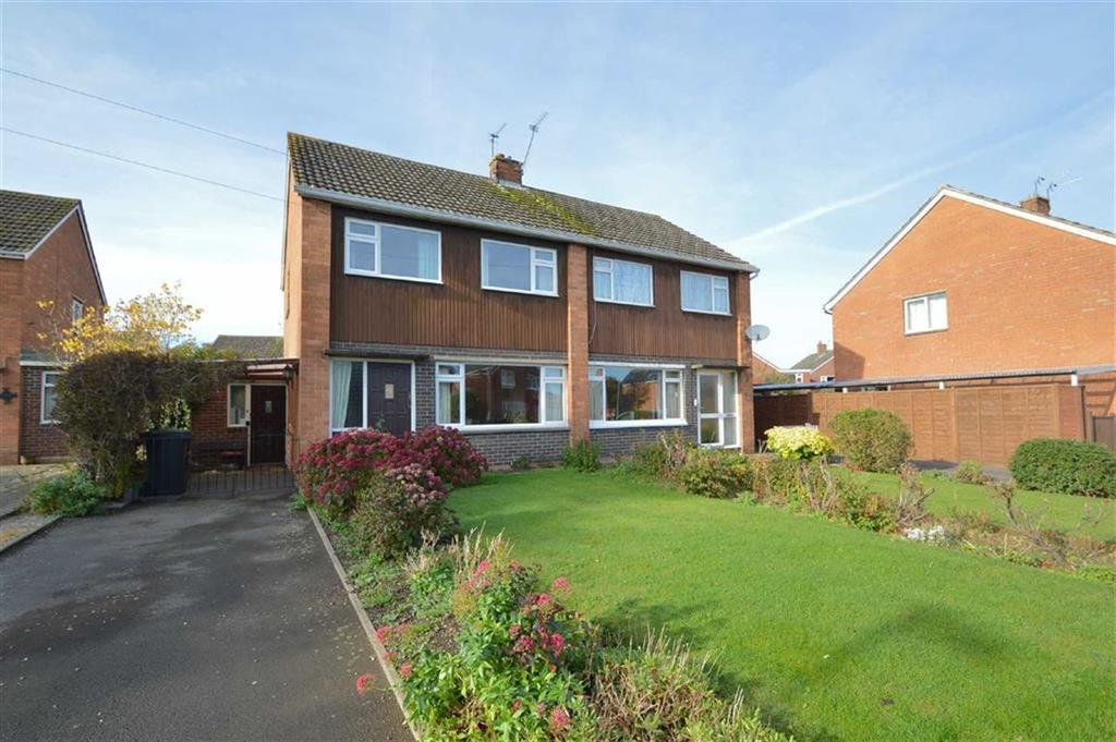 3 Bedrooms Semi Detached House for sale in Tilstock Crescent, Sutton Farm, Shrewsbury