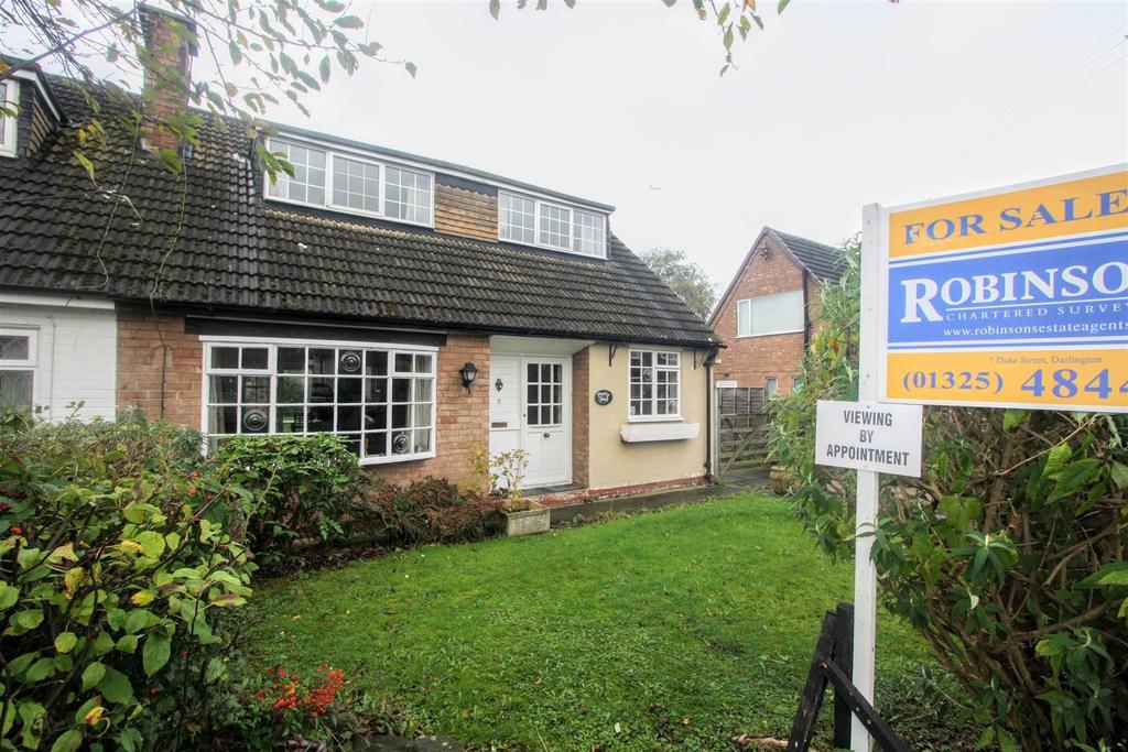 3 Bedrooms Bungalow for sale in St. Margarets Close, Middleton St. George, Darlington