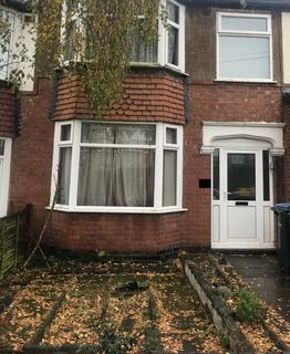 3 bedroom terraced house to rent - Purefoy Road, COVENTRY CV3