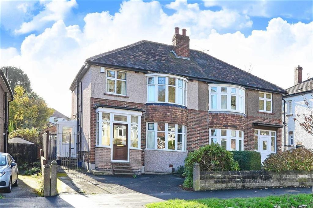 3 Bedrooms Semi Detached House for sale in 115, Bannerdale Road, Carterknowle, Sheffield, S7