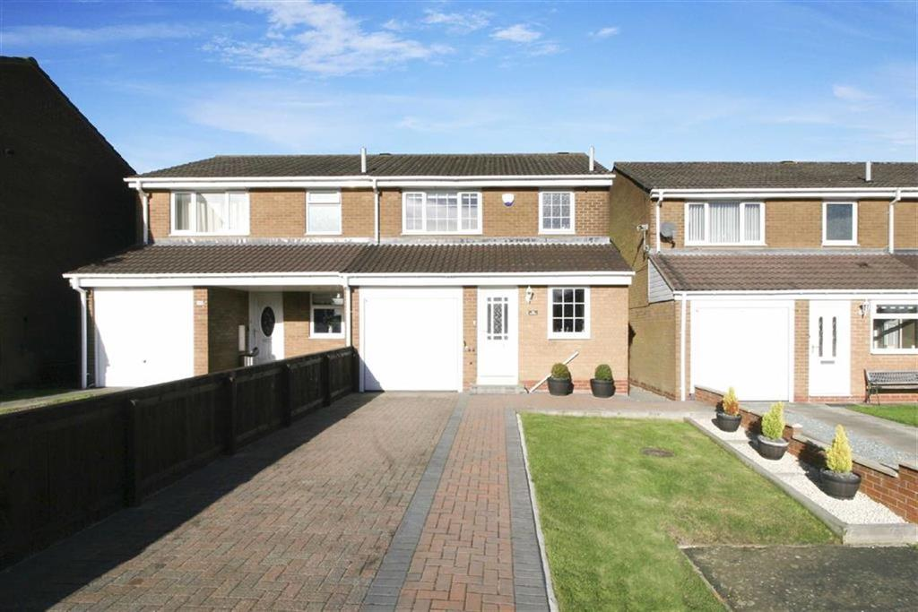 3 Bedrooms Semi Detached House for sale in Coverdale, Wallsend, Newcastle Upon Tyne