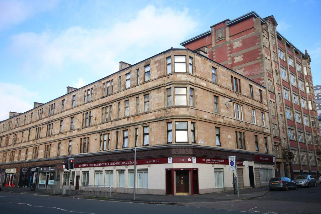1 Bedroom Flat for sale in 3/1, 7 Clarendon Street, St. Georges Cross, Glasgow, G20 7QP