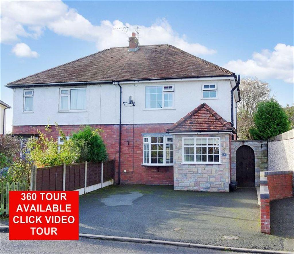 3 Bedrooms Semi Detached House for sale in 30, Greenfields, St Martins, Oswestry, Shropshire, SY11