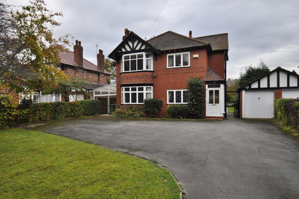 4 Bedrooms Detached House for sale in Manor Road, Bramhall,