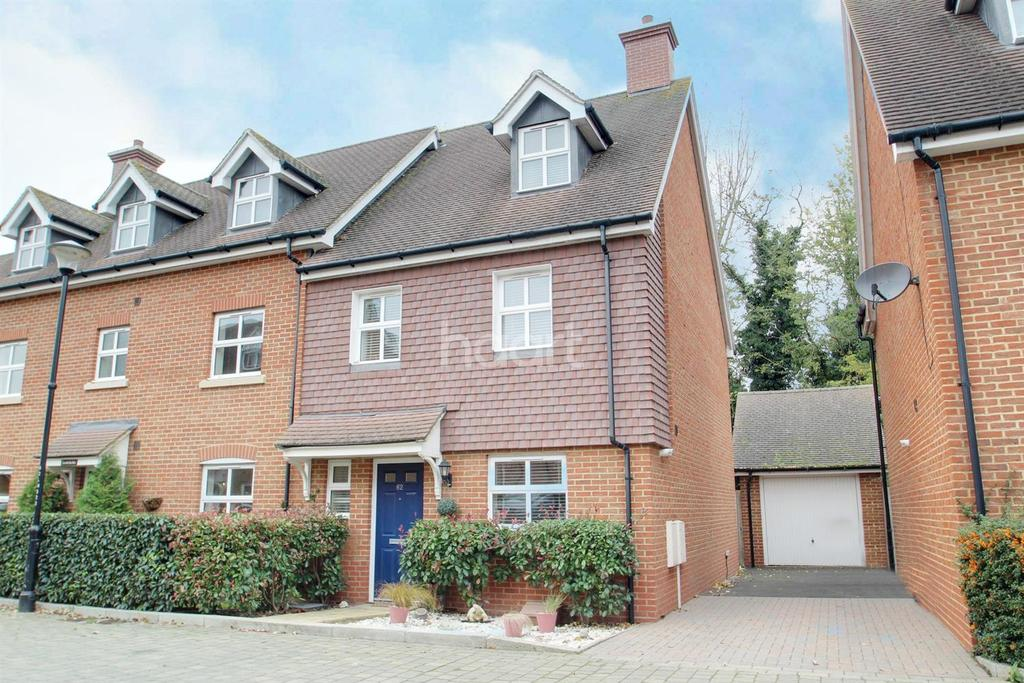 4 Bedrooms End Of Terrace House for sale in Cheney Road, Minster, CT12