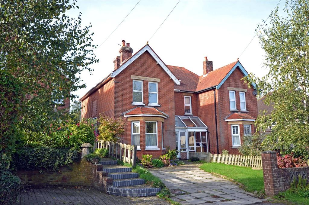 4 Bedrooms Semi Detached House for sale in Lower Buckland Road, Lymington, Hampshire, SO41