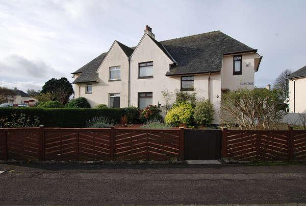3 Bedrooms Semi-detached Villa House for sale in 1 Clune Drive, Prestwick, KA9 1BS