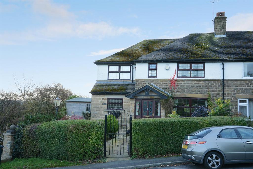 3 Bedrooms Semi Detached House for sale in The Crescent, North Rigton