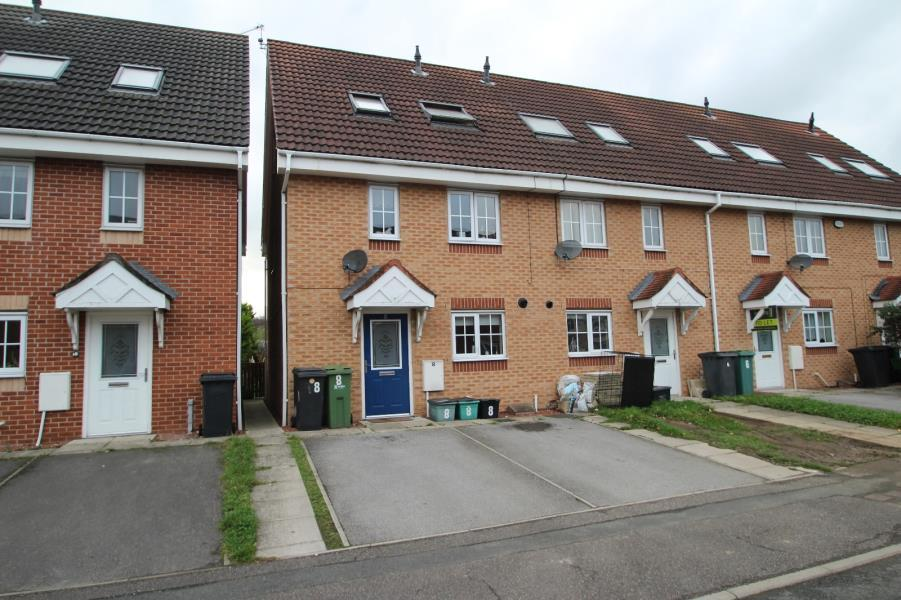 3 Bedrooms End Of Terrace House for sale in SALMOND ROAD, ACOMB, YORK, YO24 3JN