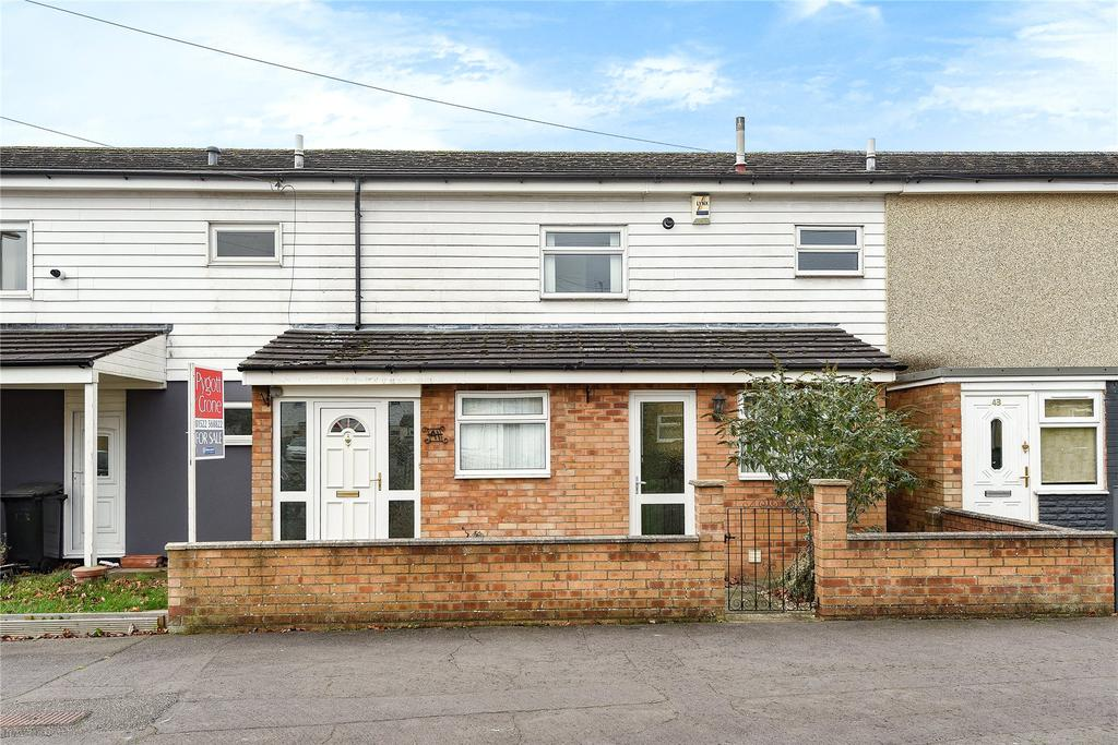 2 Bedrooms Terraced House for sale in Mons Road, Lincoln, LN1
