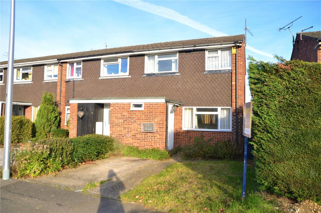 3 Bedrooms End Of Terrace House for sale in Mead Close, Tilehurst, Reading, Berkshire, RG31