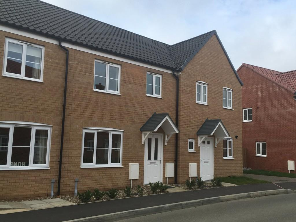 3 Bedrooms Terraced House for sale in Avocet Rise, Sprowston, Norwich