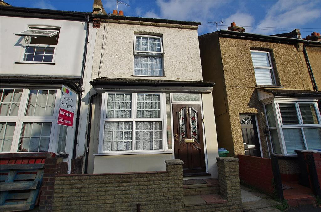 2 Bedrooms End Of Terrace House for sale in York Road, Watford, Hertfordshire, WD18