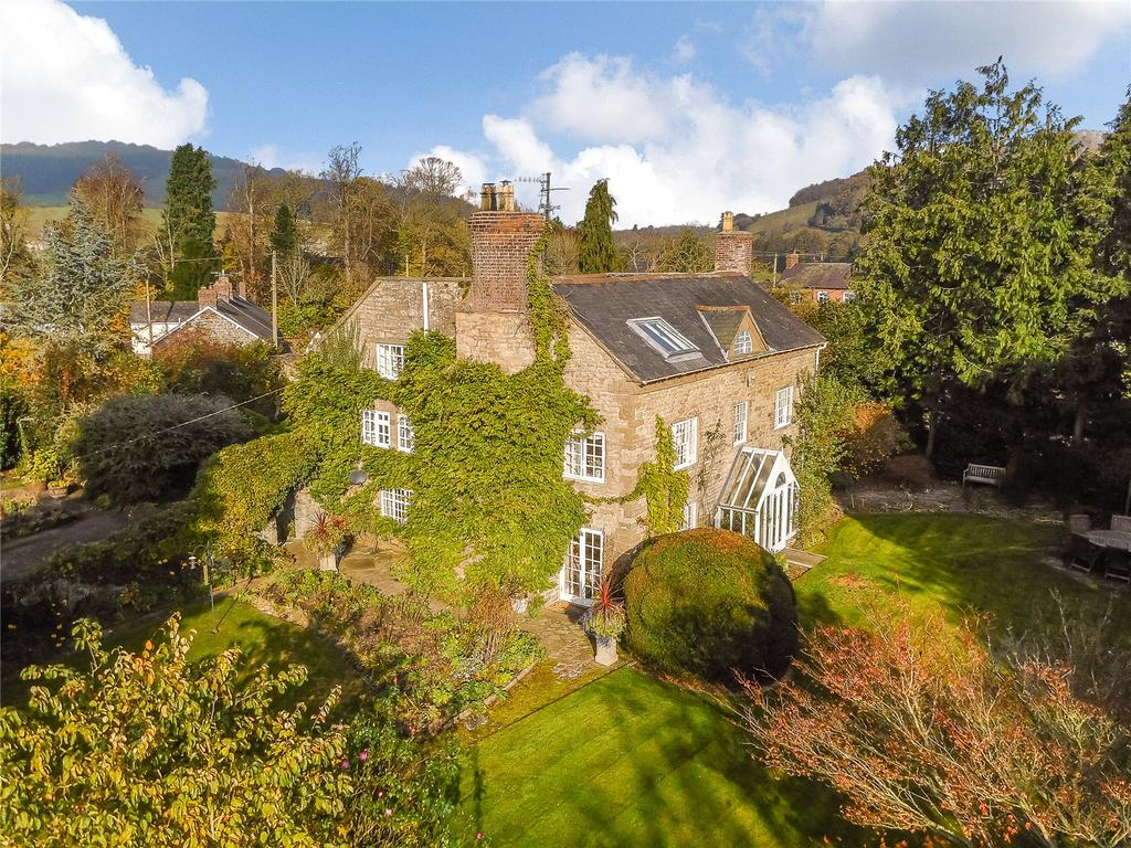 5 Bedrooms Detached House for sale in Aston On Clun, Craven Arms, Shropshire