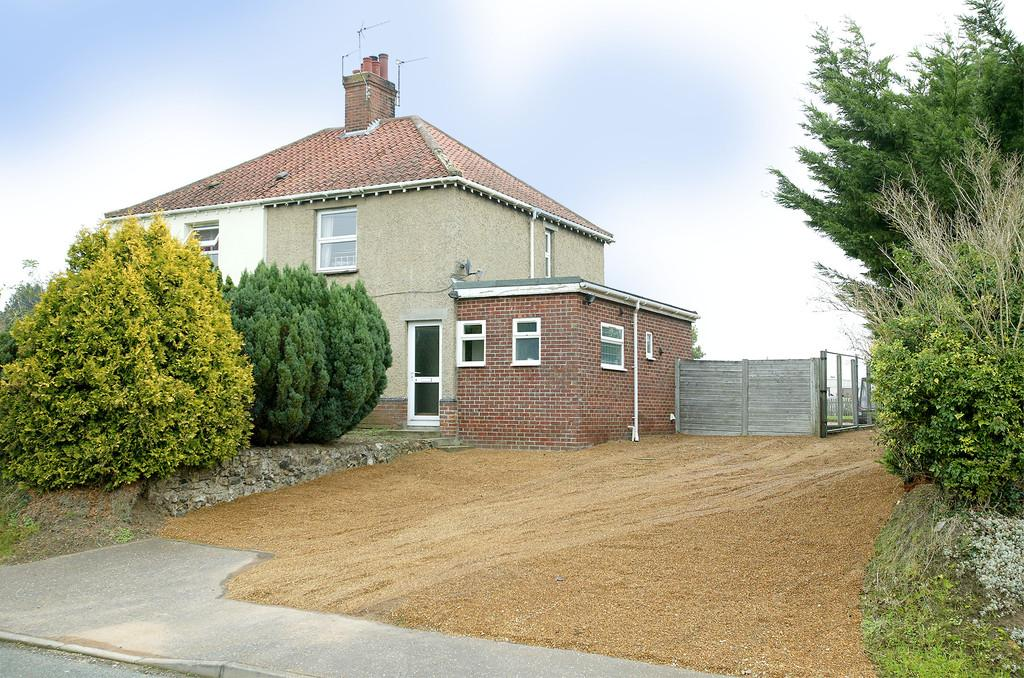 3 Bedrooms Semi Detached House for sale in Harts Lane, Bawburgh