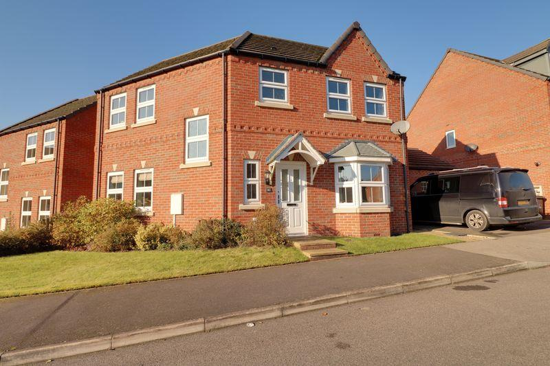 3 Bedrooms Detached House for sale in Roman Way, Caistor