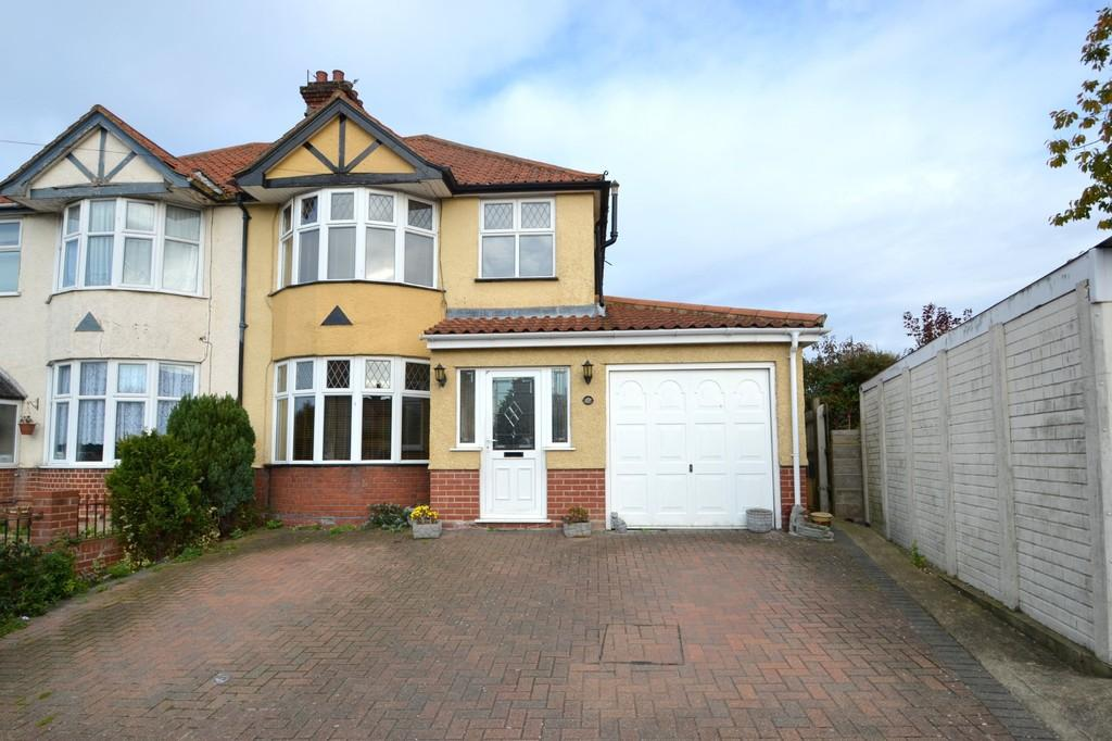 4 Bedrooms Semi Detached House for sale in Brookfield Road, Ipswich, IP1 4EN