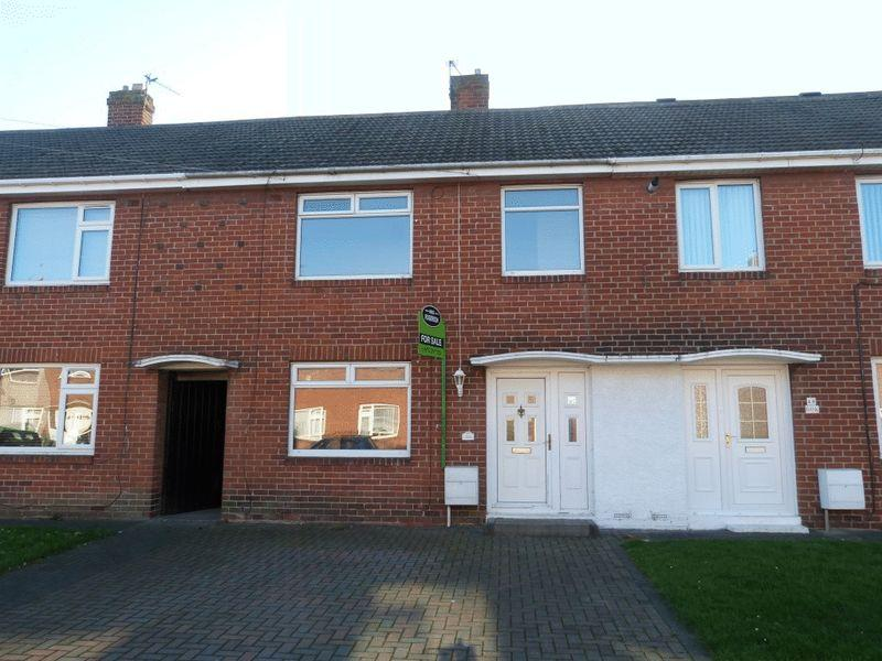 2 Bedrooms Terraced House for sale in Elsdon Drive, Ashington, Two Bedroom Mid Link House