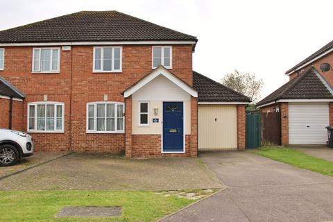 3 bedroom semi-detached house for sale - School Lane, Stewartby, Bedford, MK43