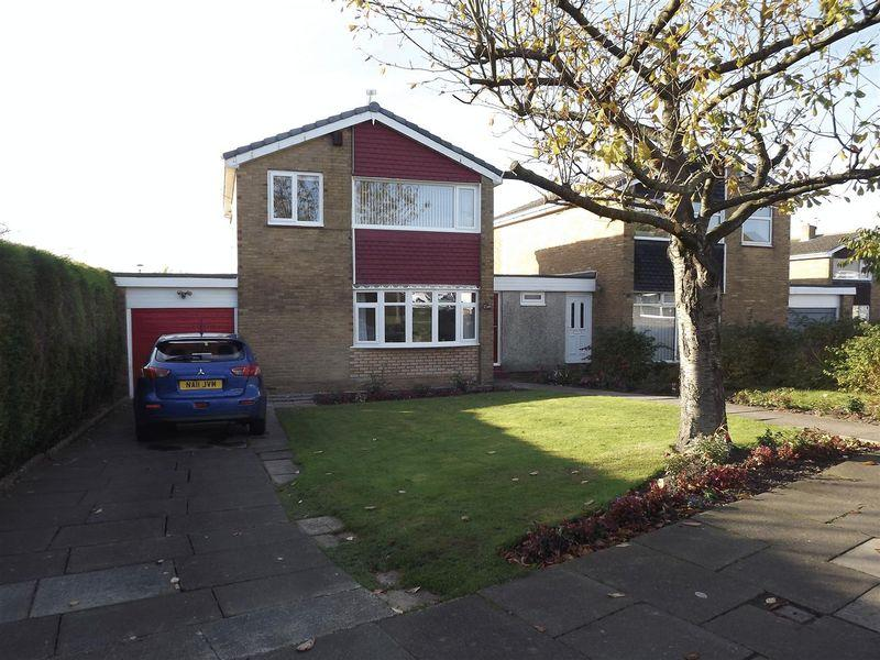3 Bedrooms Link Detached House for sale in Cramond Way, Cramlington