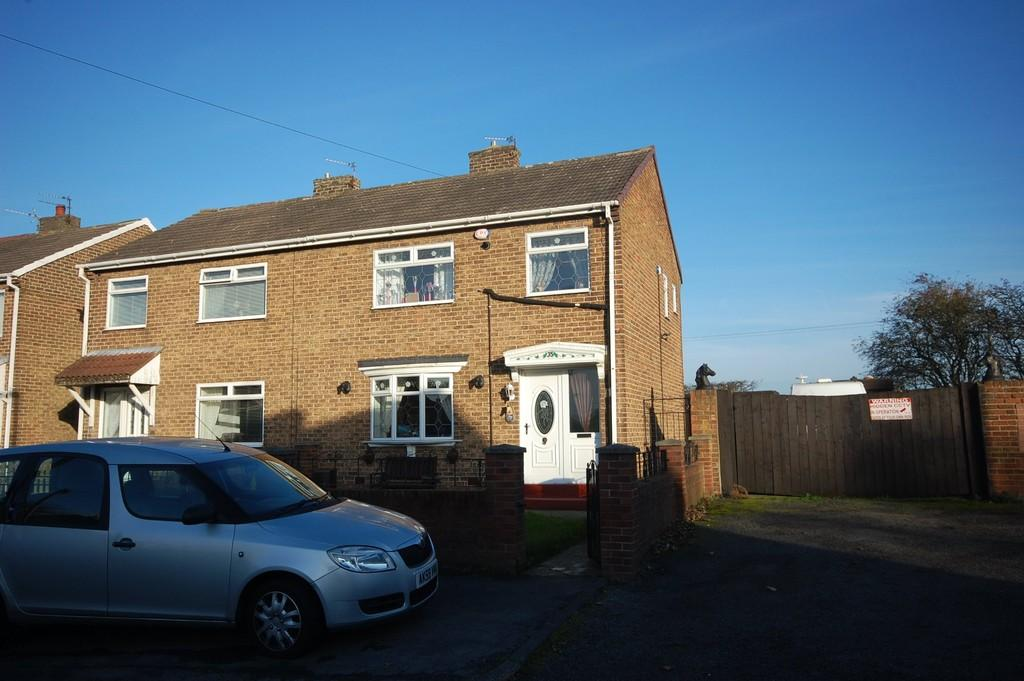 3 Bedrooms Semi Detached House for sale in Bevan Crescent, Wheatley Hill