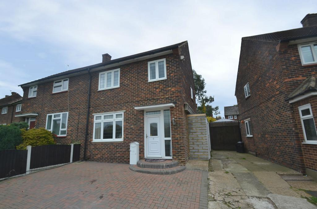 3 Bedrooms Semi Detached House for sale in Chudleigh Road, Harold Hill