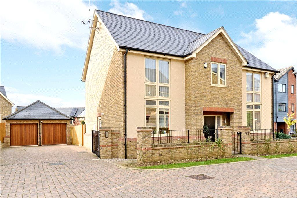 4 Bedrooms Detached House for sale in Norden Mead, Walton, Milton Keynes, Buckinghamshire