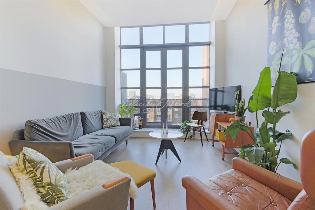 2 Bedrooms Flat for sale in The Textile Building, Chatham Place, E9