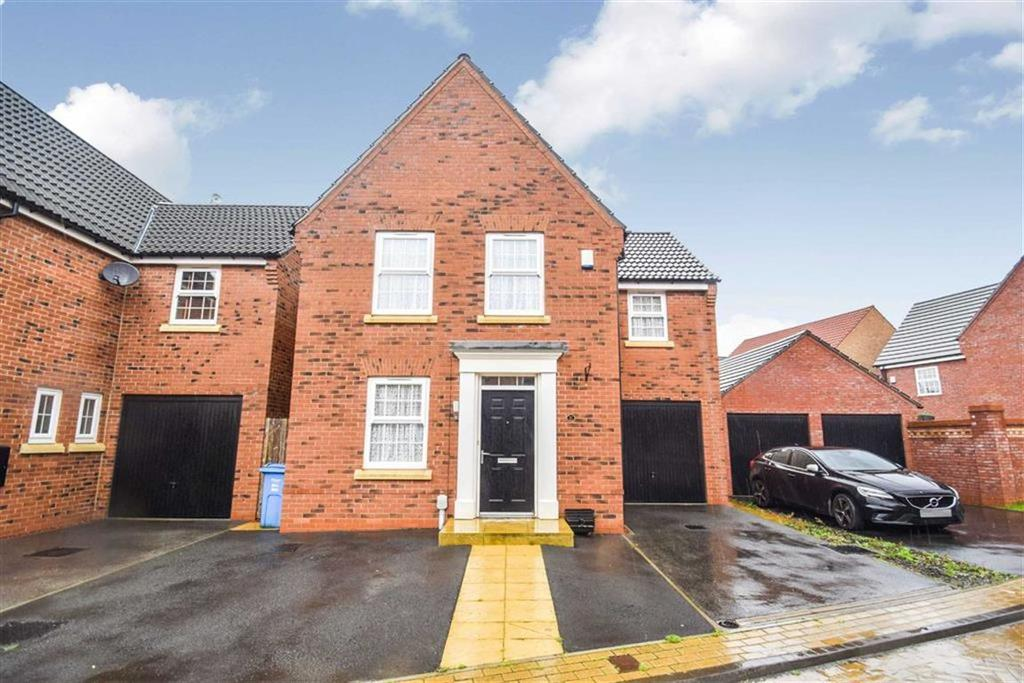 3 Bedrooms Detached House for sale in Greenwich Park, Kingswood, Hull, HU7