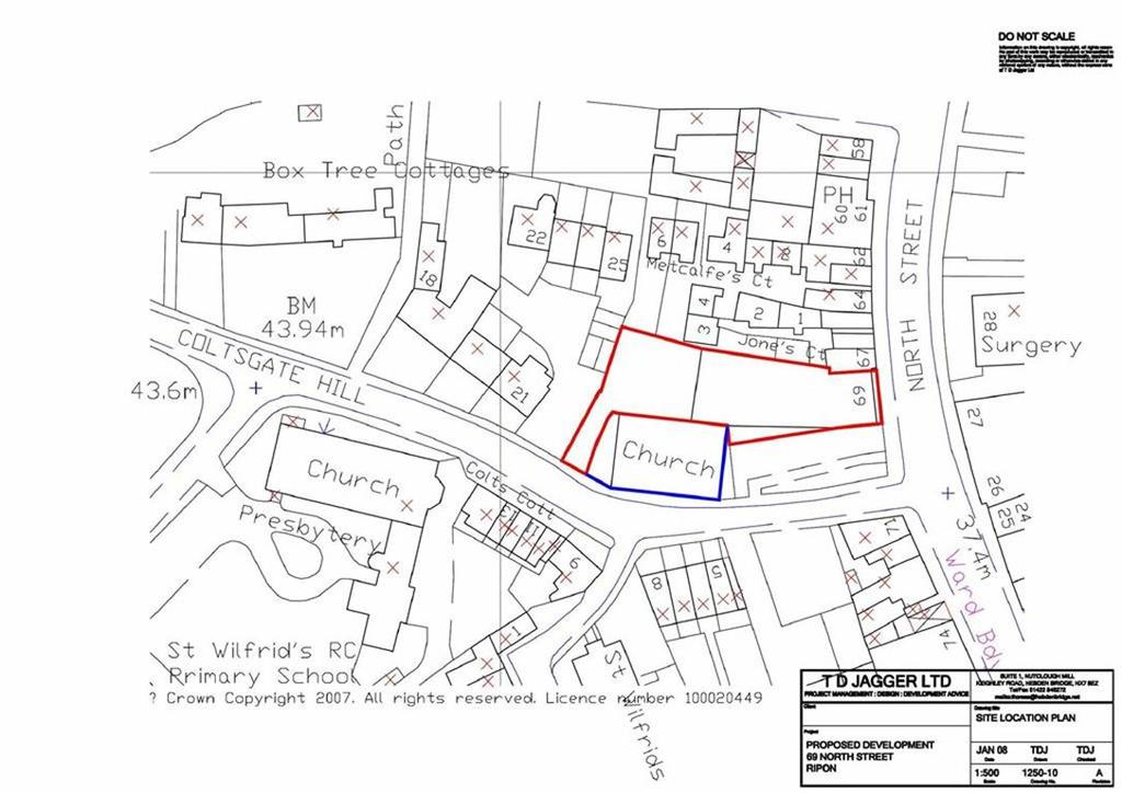 Land Commercial for sale in North Street, Ripon, North Yorkshire, HG4