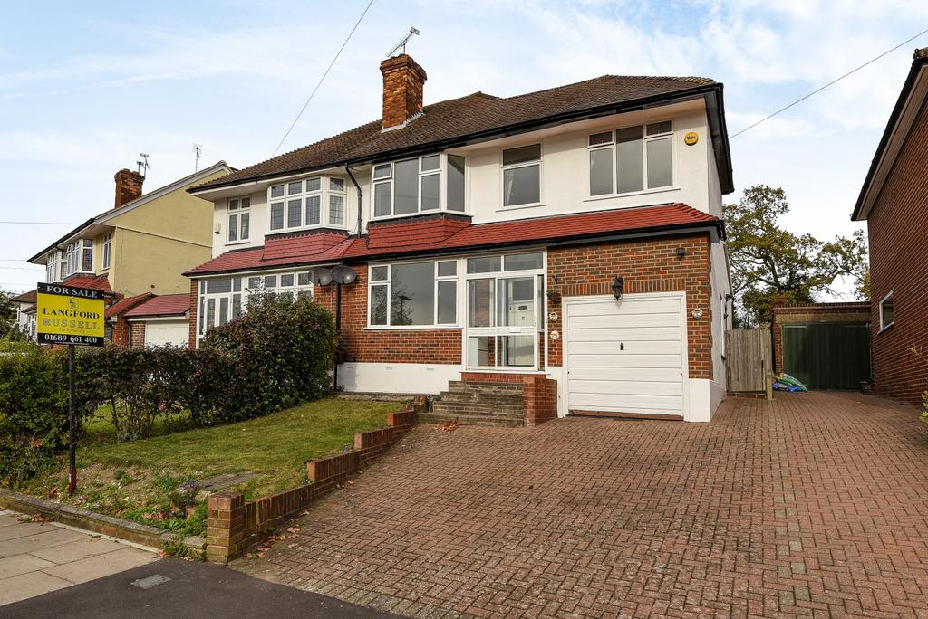 4 Bedrooms Semi Detached House for sale in Cloonmore Avenue Orpington BR6