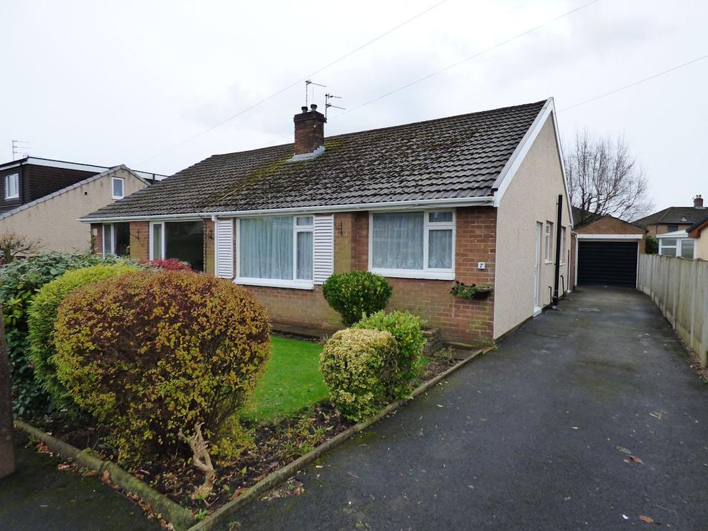 2 Bedrooms Semi Detached Bungalow for rent in Langdale Avenue, Clitheroe BB7