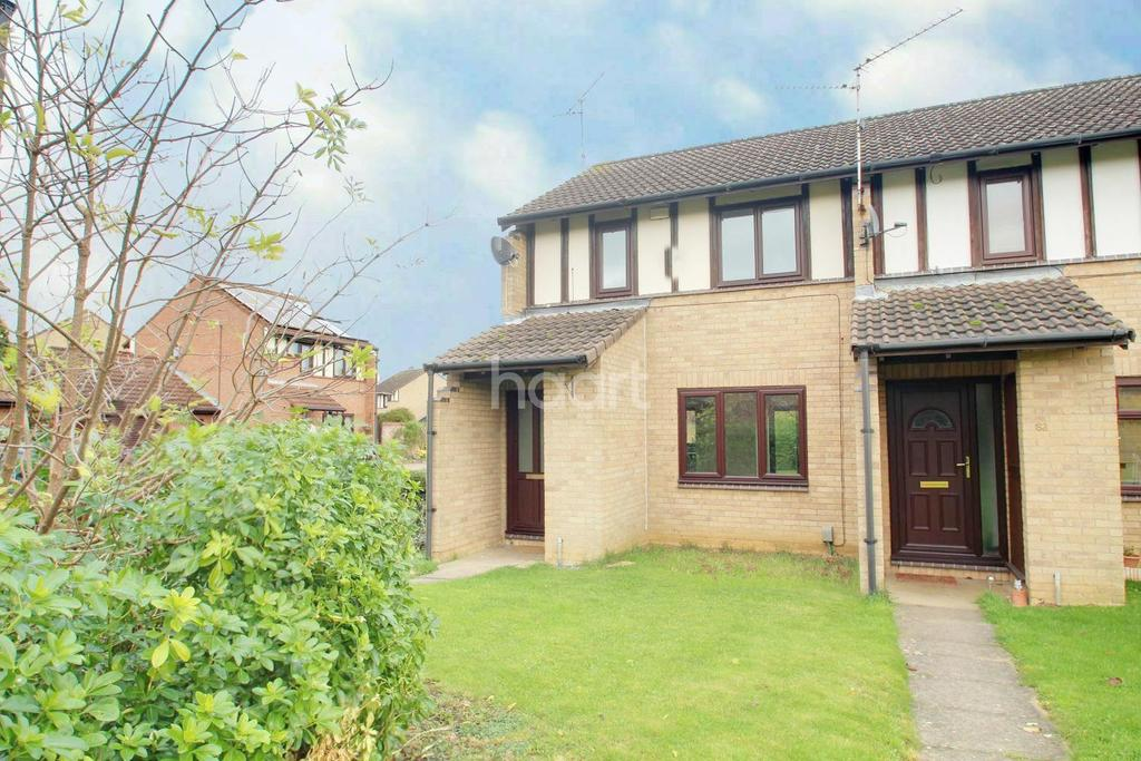 2 Bedrooms End Of Terrace House for sale in Woodhall Rise, Werrington, Peterborough