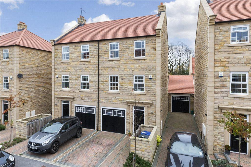 4 Bedrooms Town House for sale in Scalebor Gardens, Burley in Wharfedale, Ilkley, West Yorkshire