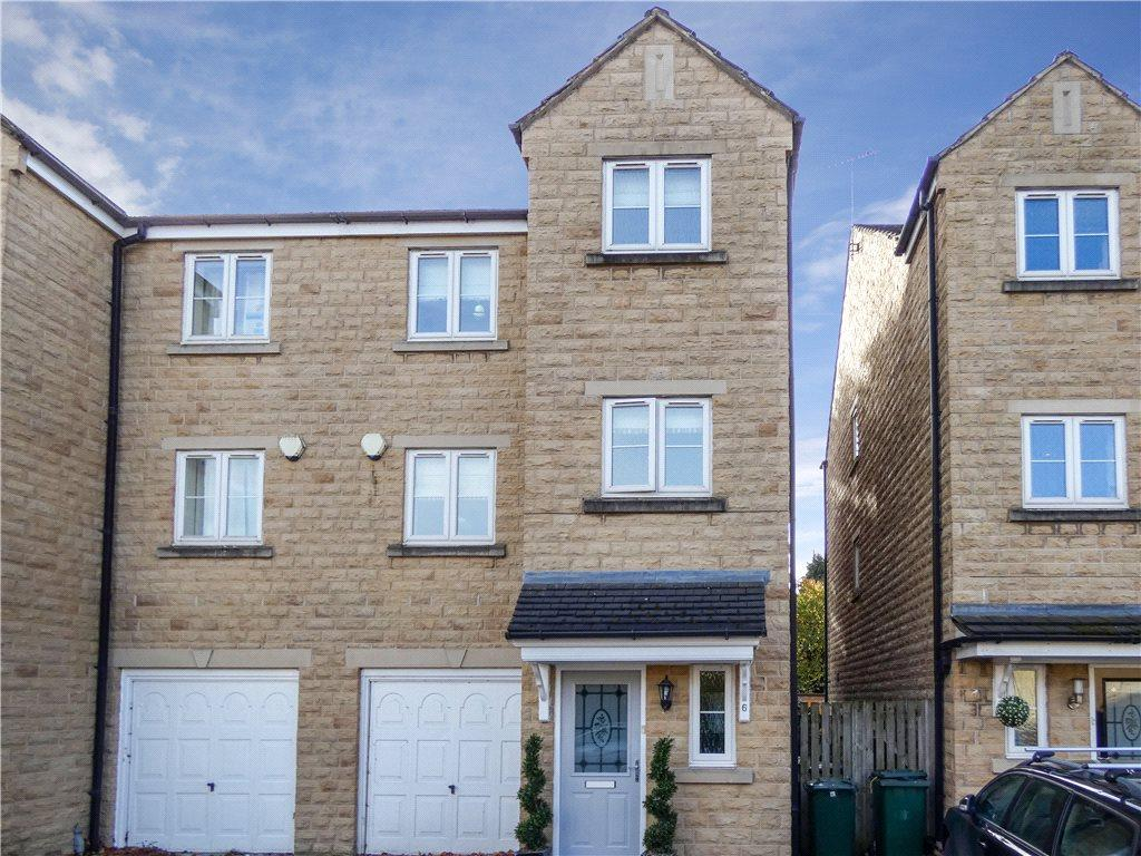 4 Bedrooms Semi Detached House for sale in Airedale Place, Baildon, West Yorkshire