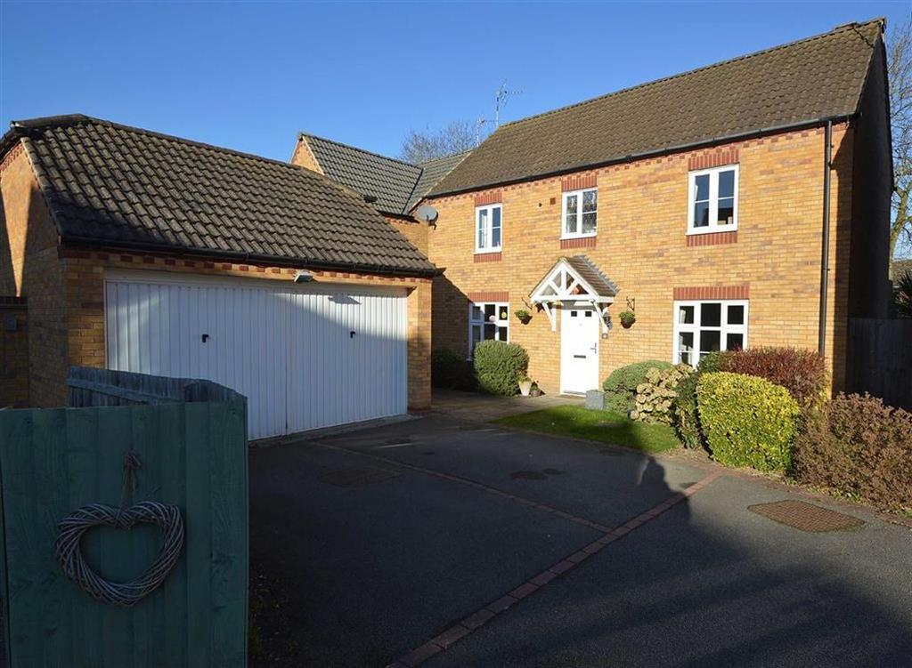 4 Bedrooms Detached House for sale in Hastings Meadow Close, Kirby Muxloe