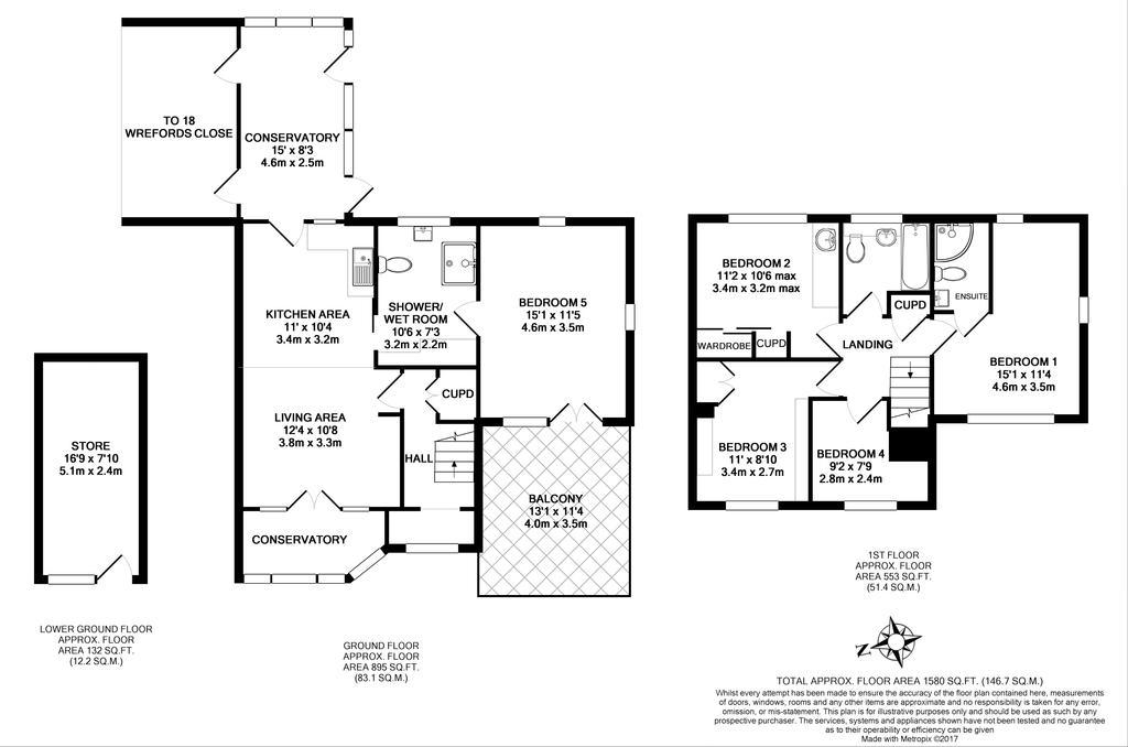 Floorplan 1 of 2: