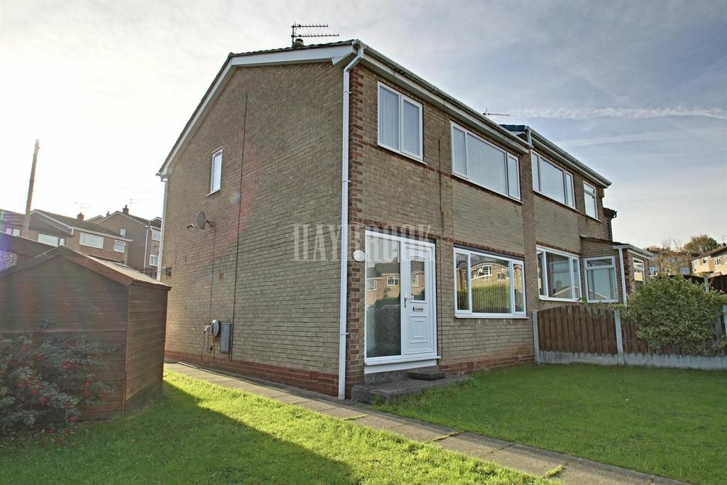 3 Bedrooms Semi Detached House for sale in Chaffinch Avenue, Brinsworth