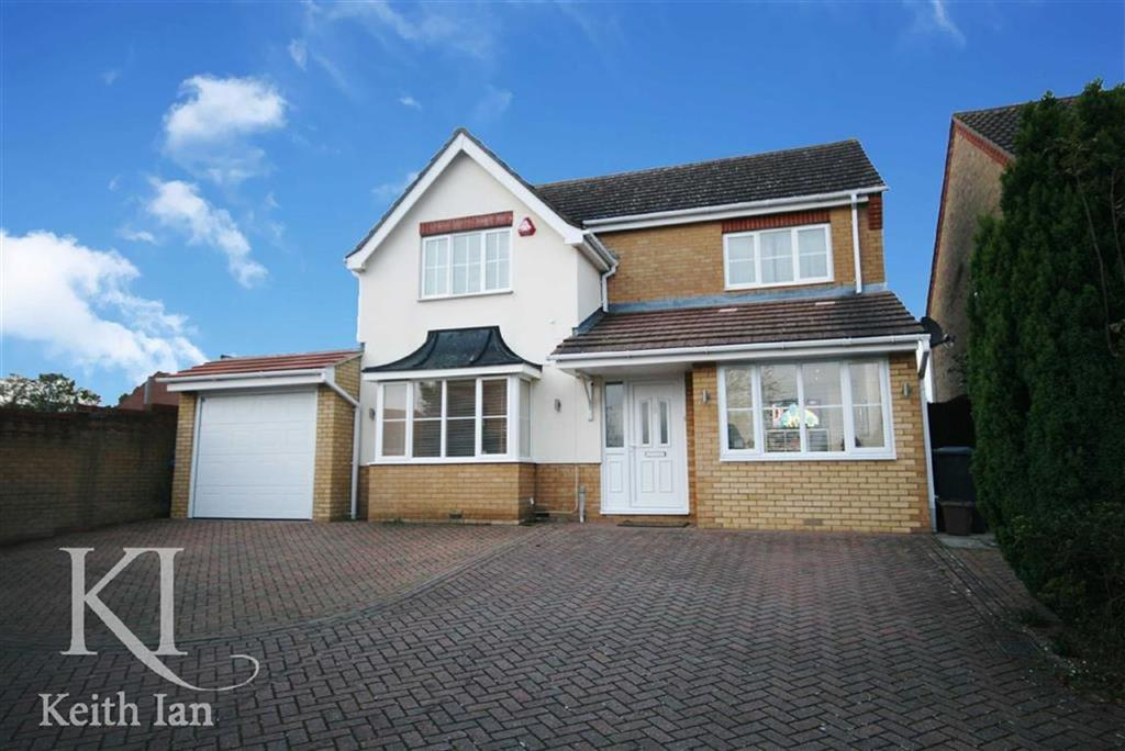 4 Bedrooms Detached House for sale in Burgess Close, West Cheshunt