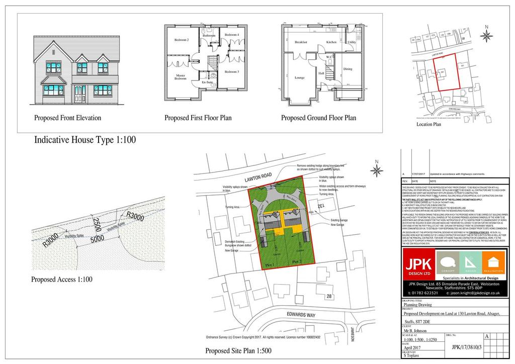 Land Commercial for sale in Lawton Road, Alsager