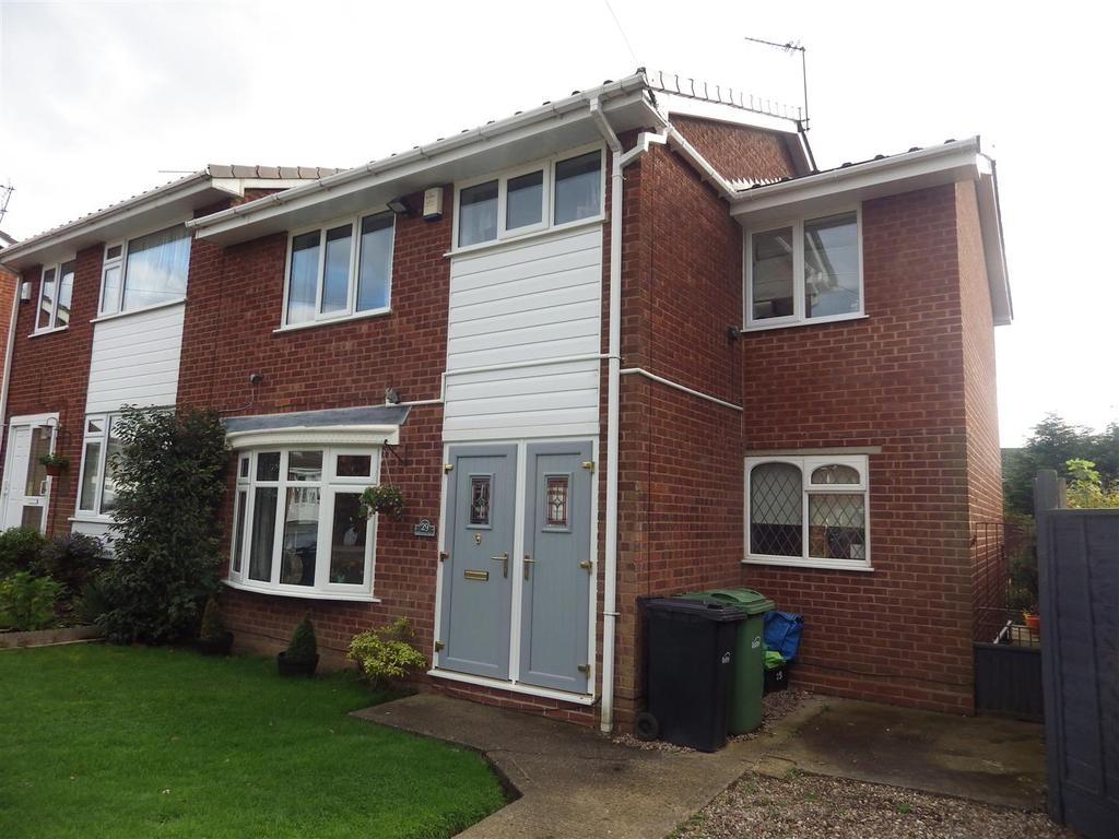 4 Bedrooms Semi Detached House for sale in Greenbush Drive, Halesowen