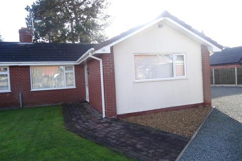 3 bedroom semi-detached bungalow to rent - Hazlitt Place, Wem, Shrewsbury