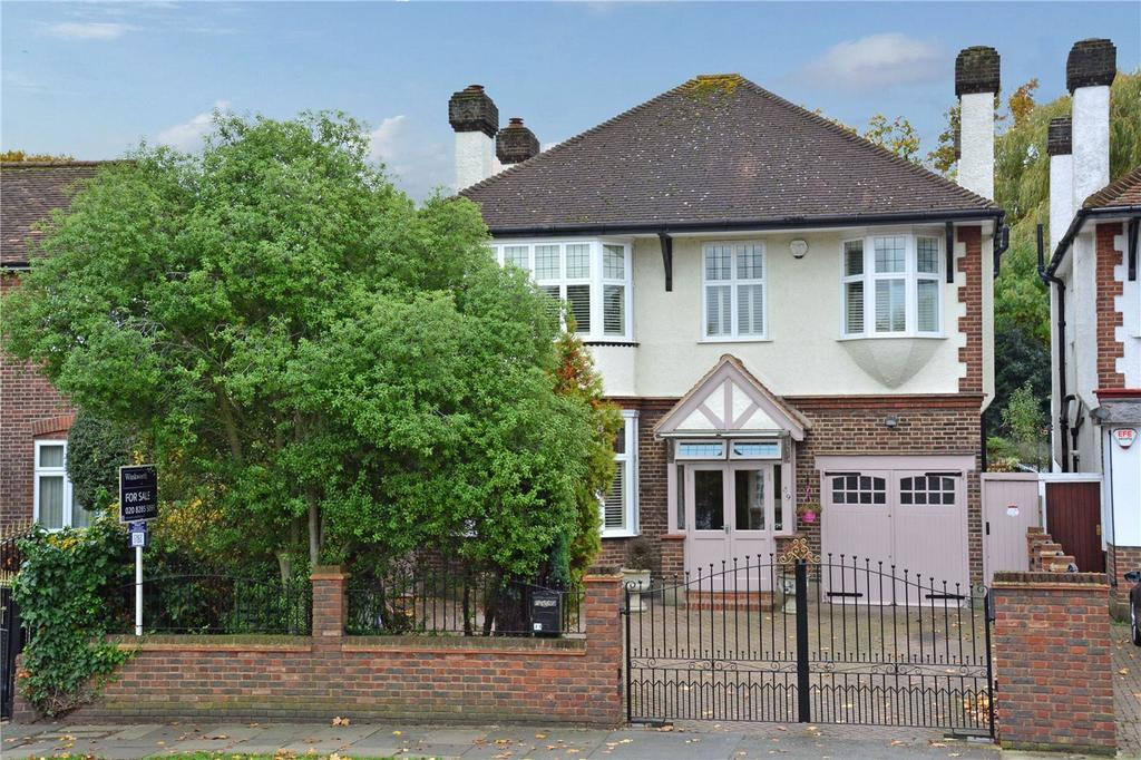 4 Bedrooms Detached House for sale in Grove Park Road, London, SE9