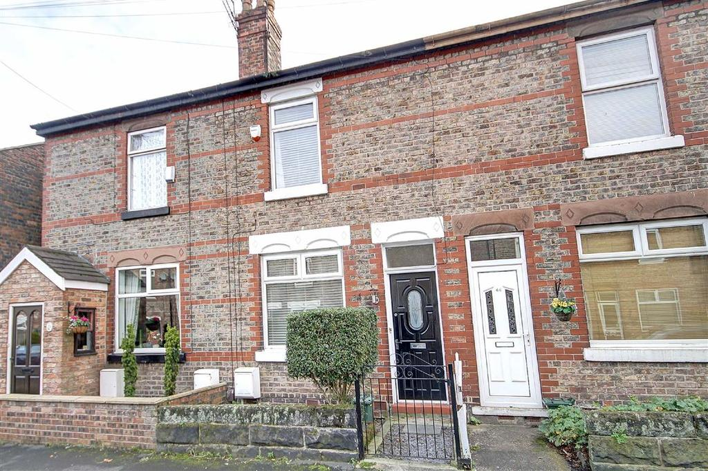 2 Bedrooms Terraced House for sale in Brunswick Road, Altrincham, Cheshire