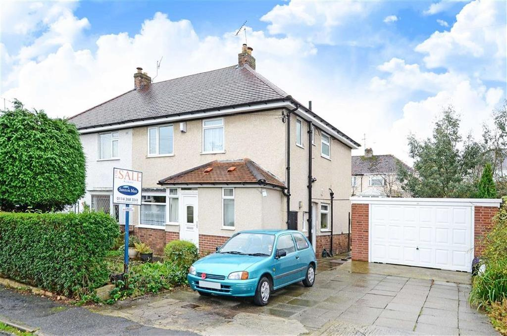 3 Bedrooms Semi Detached House for sale in 42, Meadow Grove, Totley, Sheffield, S17
