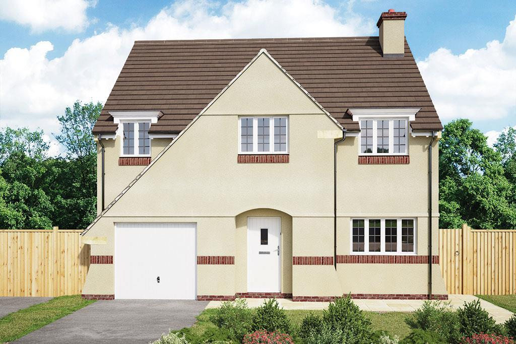 4 Bedrooms Detached House for sale in Garden View, Pontywaun, Newport