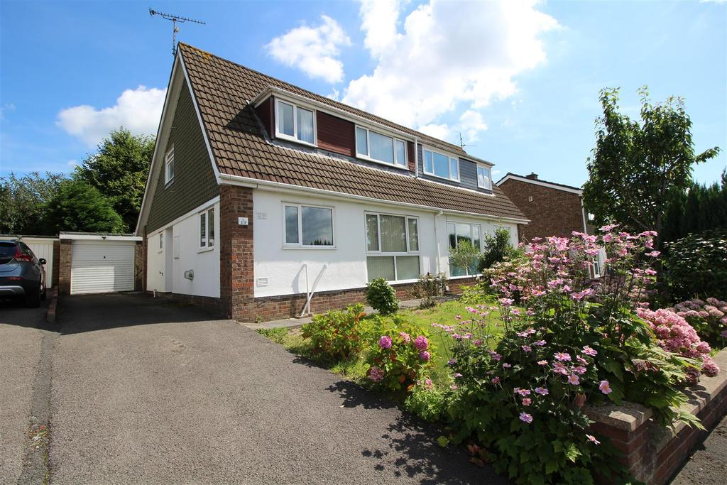 4 Bedrooms Semi Detached House for sale in Court Gardens, Rogerstone, Newport