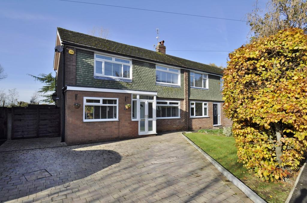 3 Bedrooms Semi Detached House for sale in Lugano Road, Bramhall