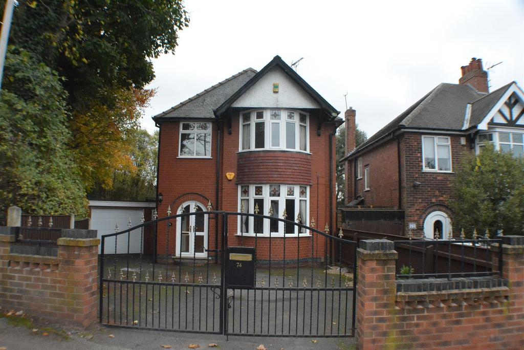 4 Bedrooms Detached House for sale in Berry Hill Lane, Mansfield