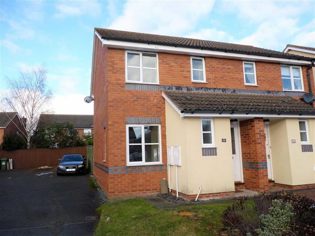 2 Bedrooms Semi Detached House for sale in Heritage Drive, Hereford